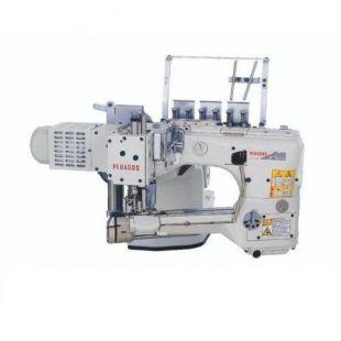 Pegasus FS703P-G2Bx460\PD23\Z054\PT четырехигольная промышленная швейная машина флэтлок со встроенным сервомотором